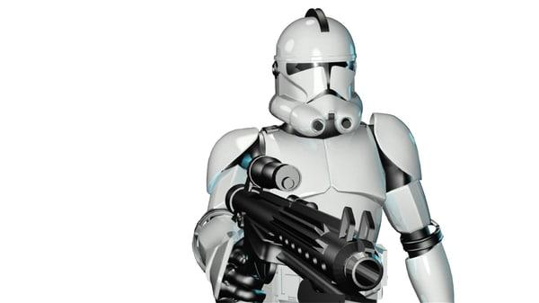 3d model trooper 1 15