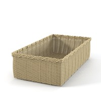 wicker storage container 3d max