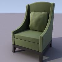 chair armchair 3d max
