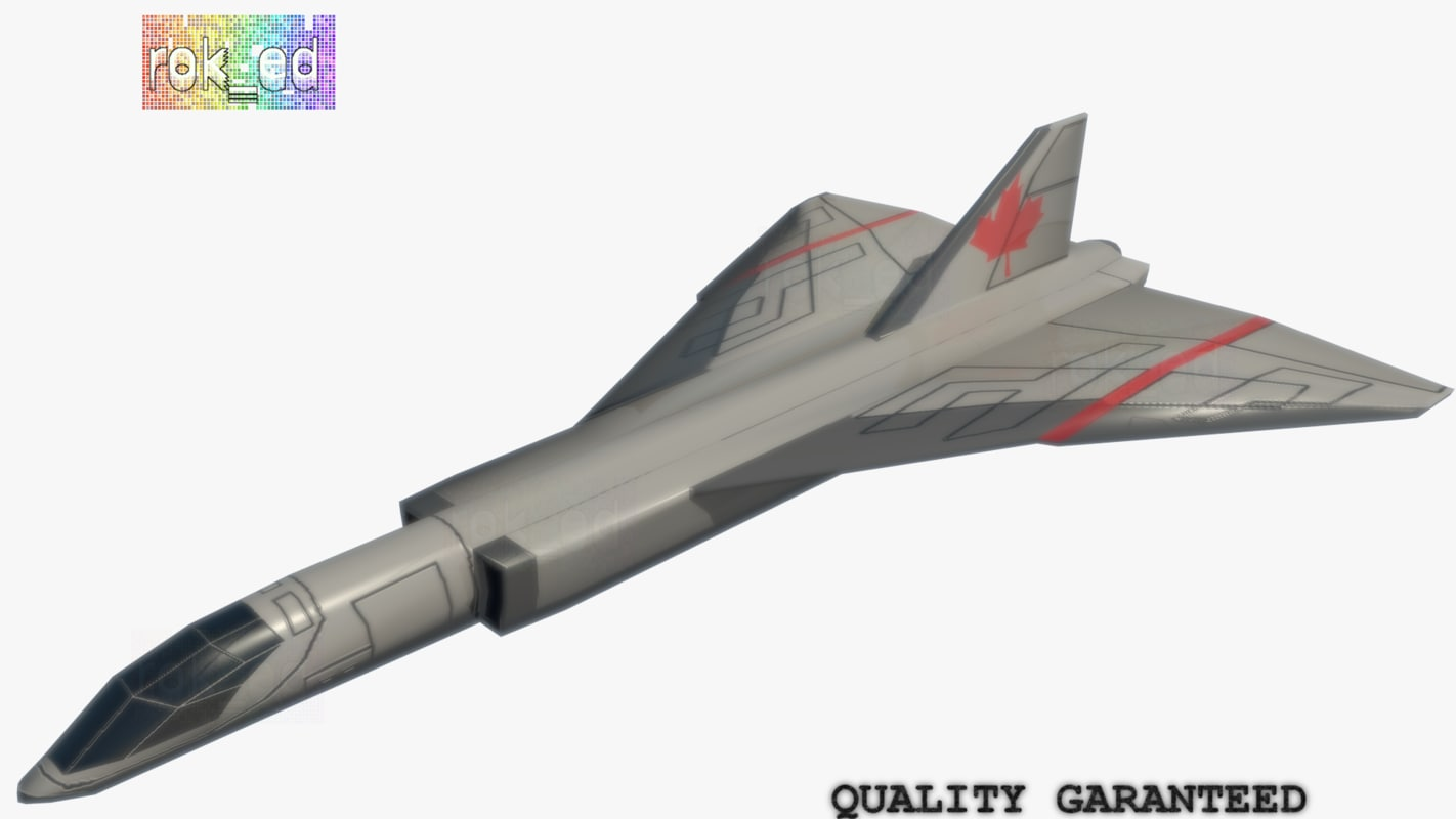 3d airplane prototype model