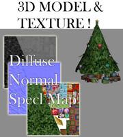 3d christmass tree model