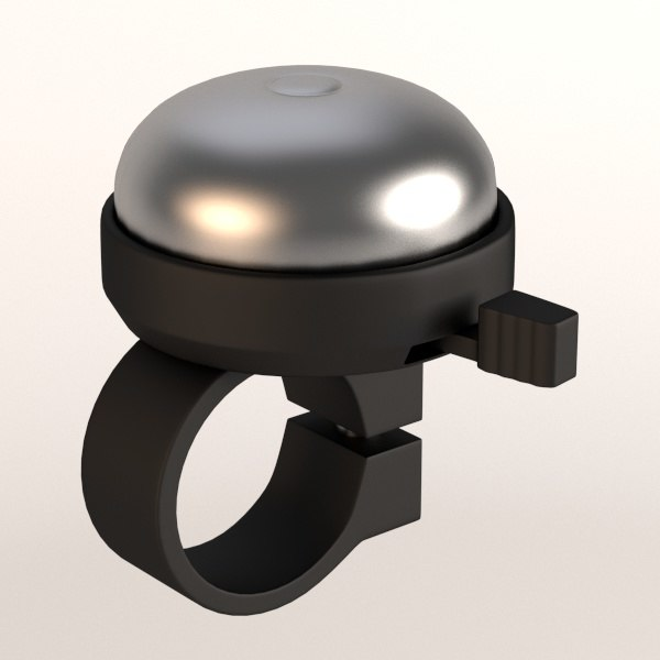 bicycle bell 3d model