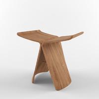 s sori yanagi butterfly stool