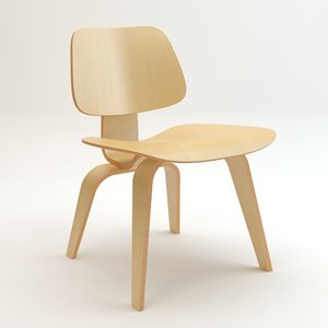 dcw chair wood 3ds