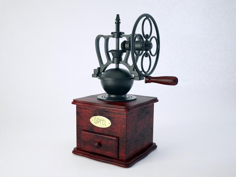 coffee-mill gipfel 3ds