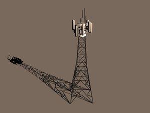 computer tower scaffold 3d c4d