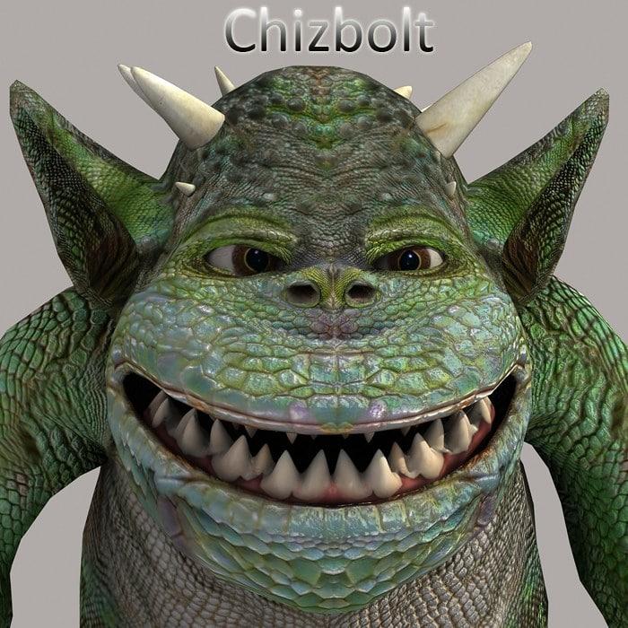 goblin character poser figure
