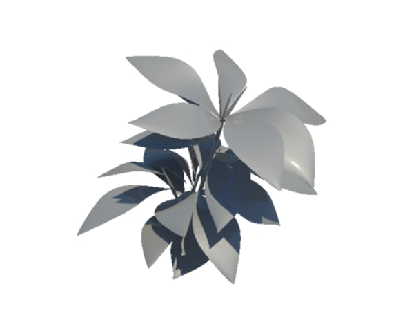 small plant 3d ma