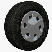 3dsmax rim wheel sedan medium