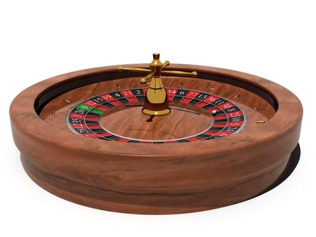 3ds max roulette wheel
