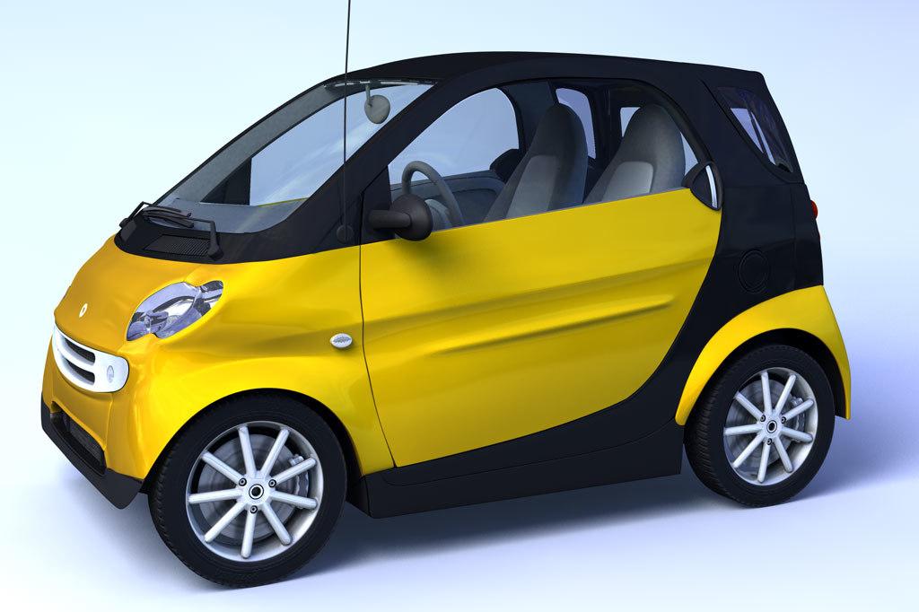 c4d small car smart