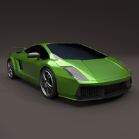 Lamborghini Gallardo superleggera redesign