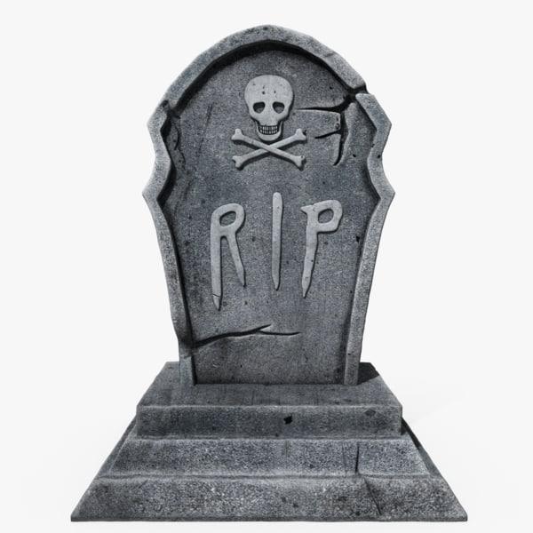 scary gravestone 3ds