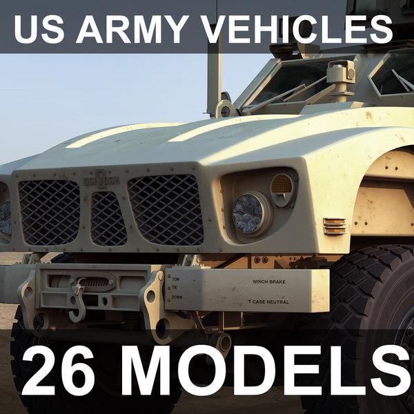 3ds max vehicles m-atv cougar