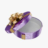 gift present 3d model