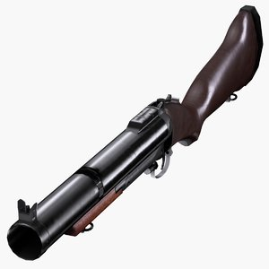 free ma model unfinished m79 grenade launcher