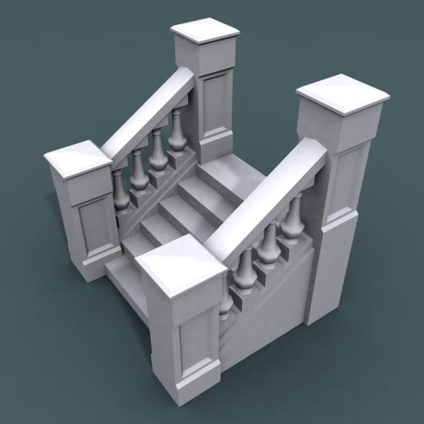 3d stairs staircases