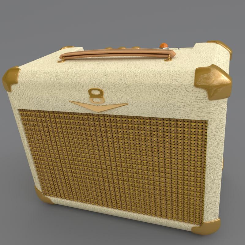 crate v8 palomino amplifier obj
