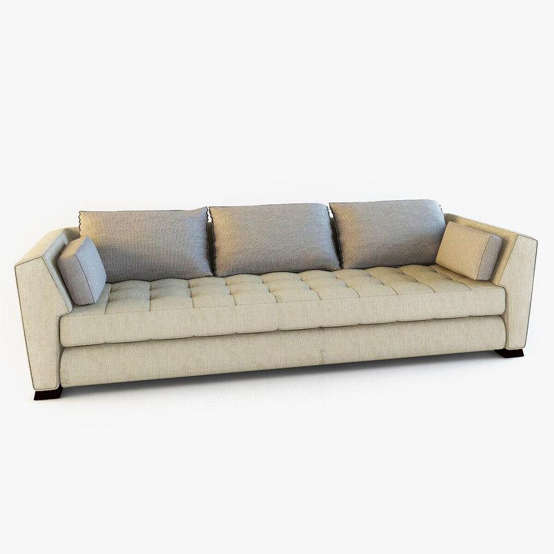 buchenholz - lounge sofa 3d model