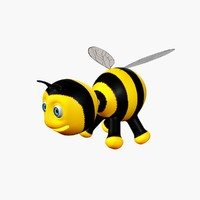 3d cartoon bee
