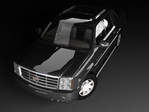 3d model cadillac escalade ext