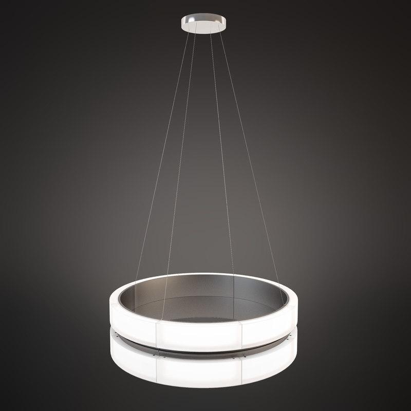chandelier norlight bubble twins 3d model