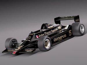 3d car sport 1978 grand prix model