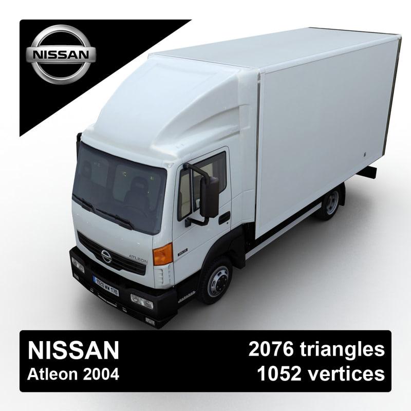 3d model 2004 nissan atleon