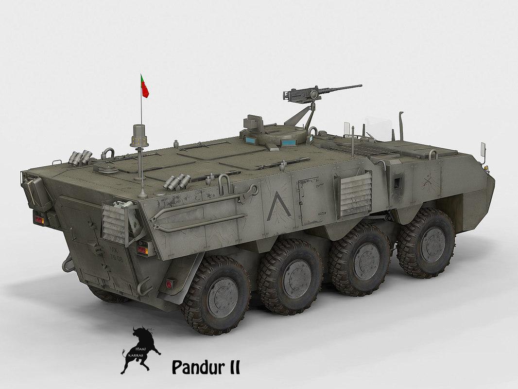 3d model pandur