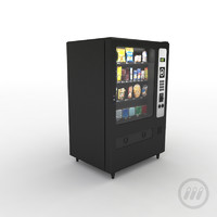 vending machine 3d max