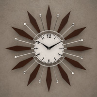 fxb wall clock 3d max