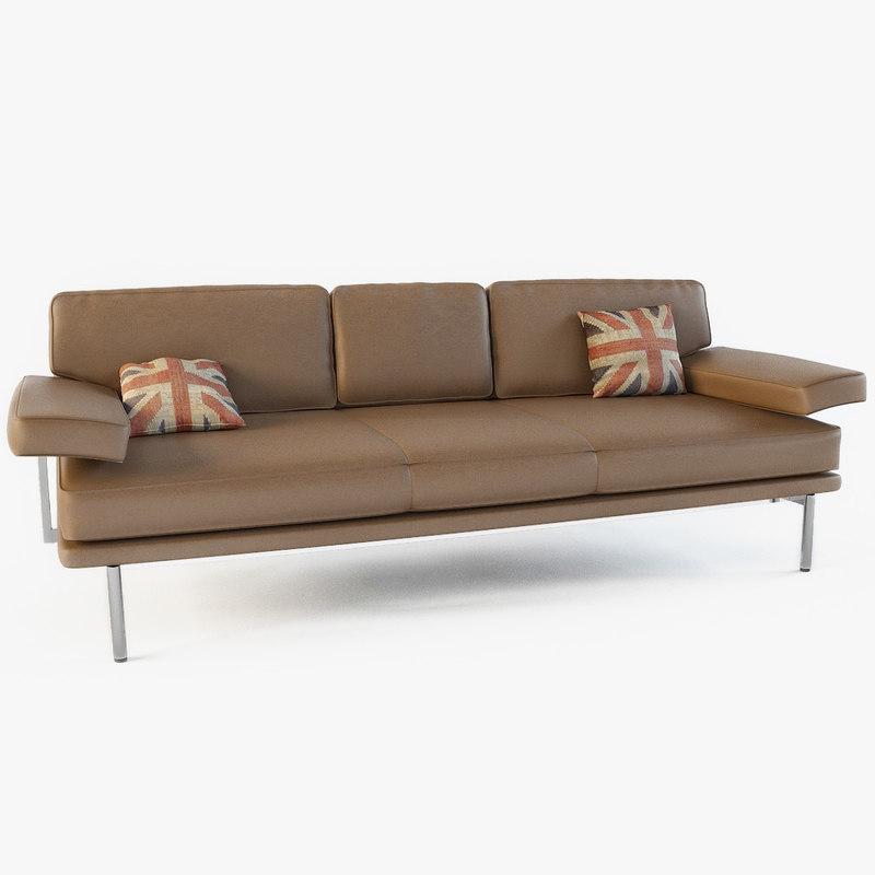 3d model walter knoll - living