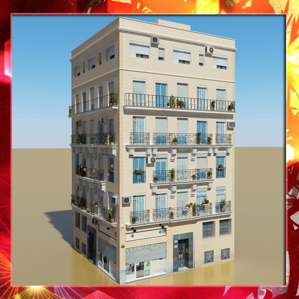 3d model photorealistic building 18