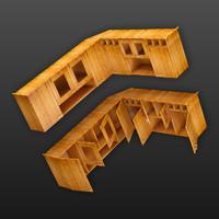 3d cupboard corner