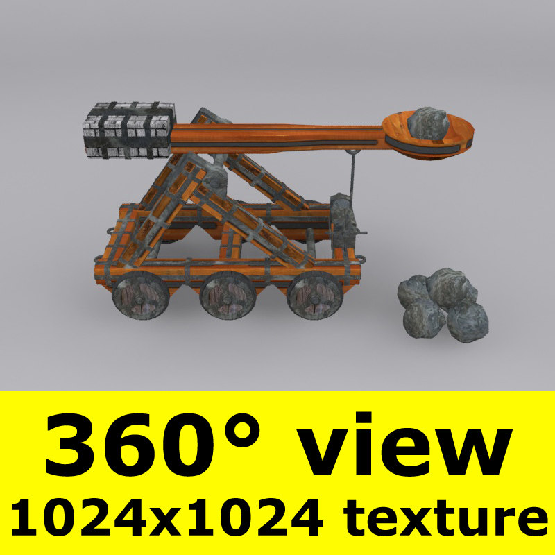 3dsmax catapult