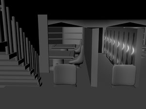 coffee shop 3d ma