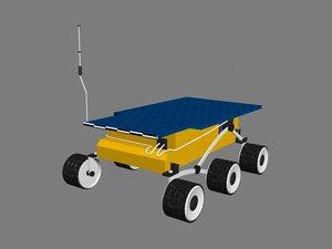 mars rover sojourner 3d 3ds