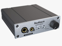 free photoreal headphone amp audinst 3d model