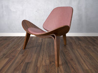 armchair chair wooden 3d max