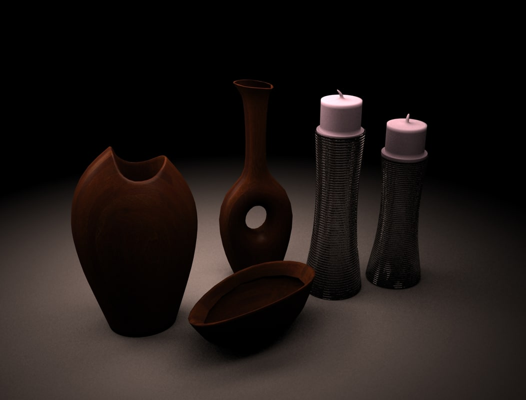 furnishing 3d model