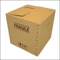 cardboard box 3d max