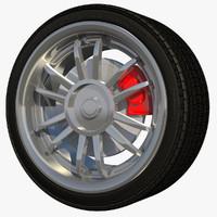 3d model sport rim wheel stock