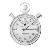 3d stopwatch model