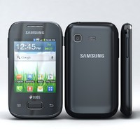 3d samsung galaxy pocket duos