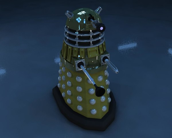 dalek high-poly max free