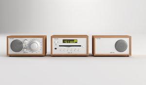 3d model of tivoli radiocombo