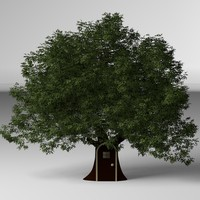 treehouse 3d obj
