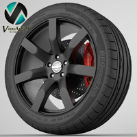 wheel nissan juke 3d 3ds