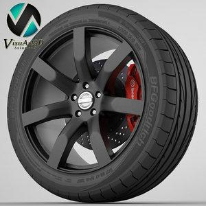 wheel nissan juke 3d 3ds
