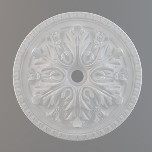 3ds max ceiling plate